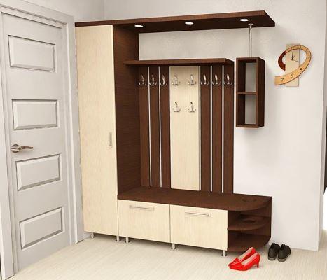 Правильно подобранный дизайн и мебельный гарнитур способны сделать прихожую функциональной и красивой