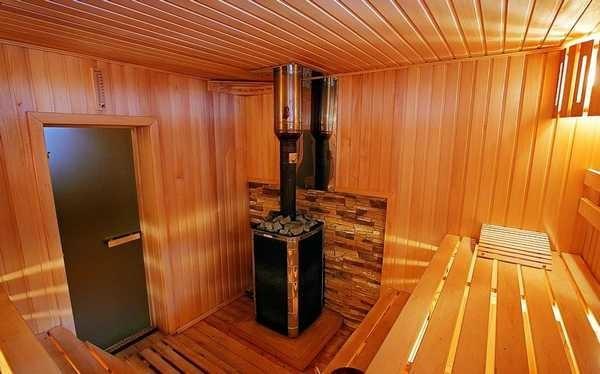 Высота потолков в бане