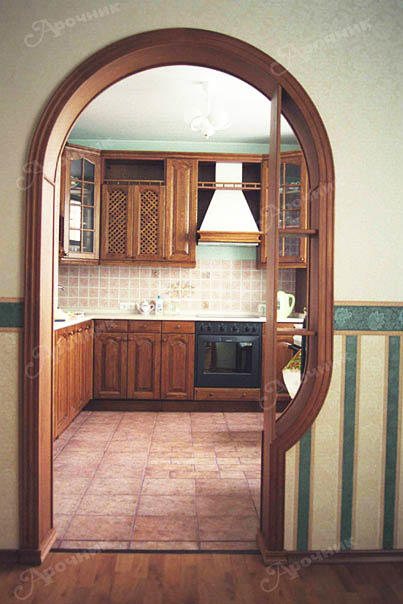 Арка на кухне фото