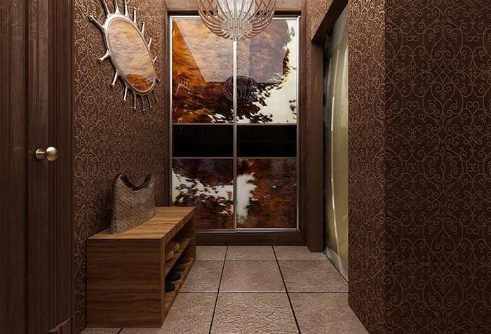 В широкой комнате можно не бояться использовать темные тона: они смотрятся элегантно и по-настоящему шикарно