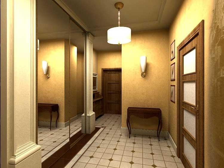 Чтобы дизайн коридора смотрелся выигрышно, особое внимание следует уделить подбору мебели