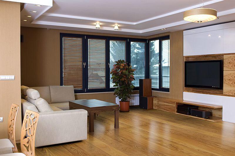 Современные фигурные потолки внесут изюминку в ваше помещение