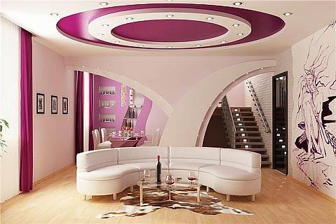 При использовании натяжных потолков вы не только украсите свой потолок, но и сэкономите свой бюджет