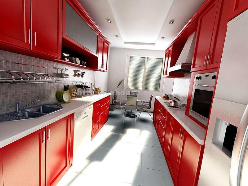 Узкая кухня - это не приговор, а место где можно обыграть разные дизайнерские решения