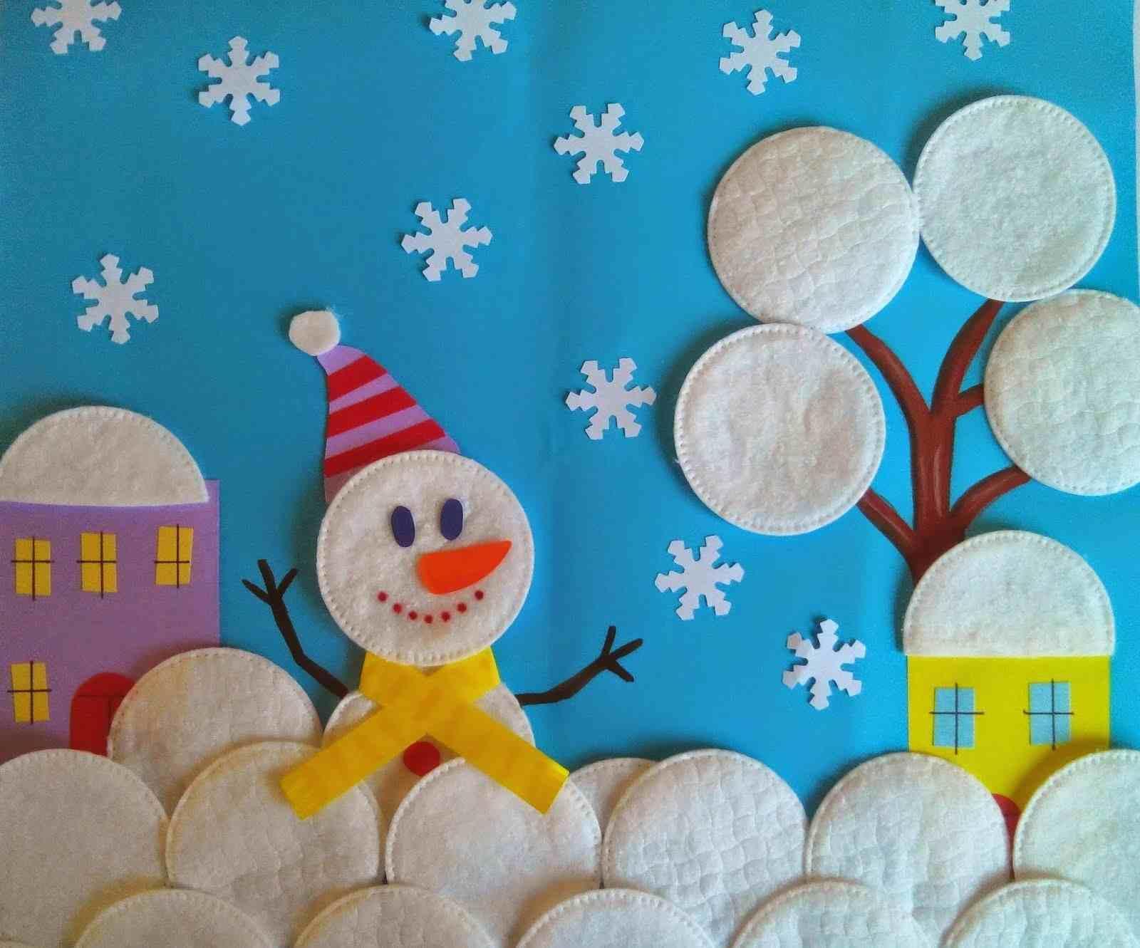 Зимнее панно своими руками для детского сада: зима, тедико панно, развивающее, как сделать на юбилей из природного материала, видео