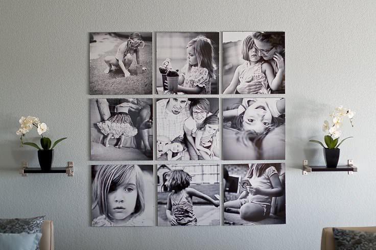 Черно-белые фото удачно разбавят современный интерьер, привнеся в него кусочек ретро