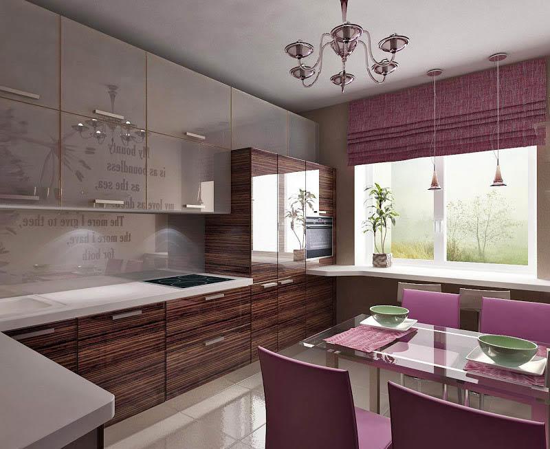 Материалы для отделки кухни-столовой должны быть практичными и влагостойкими