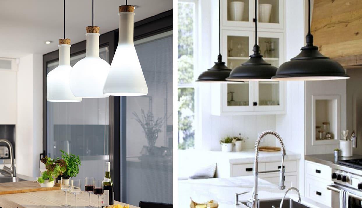 Выбирая светильник, ориентируйтесь, прежде всего, на стиль интерьера Вашей кухни