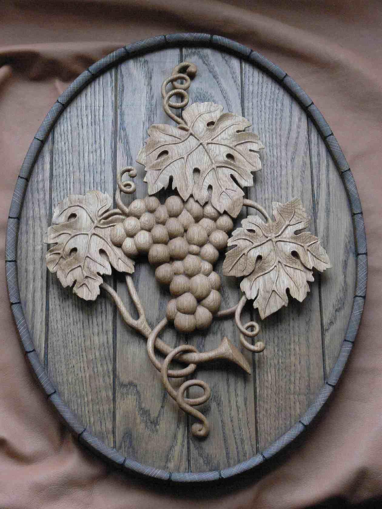 Панно из дерева, Женский журнал