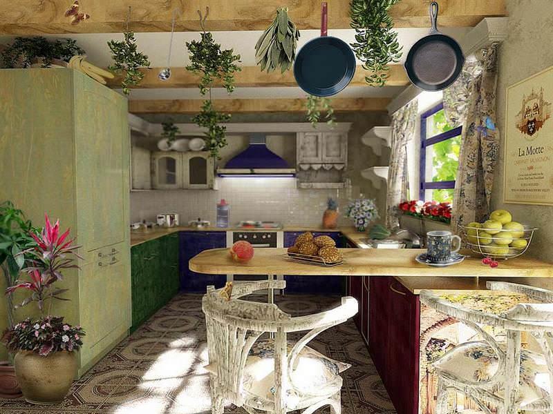 Стиль прованс – одно из самых теплых и уютных направлений