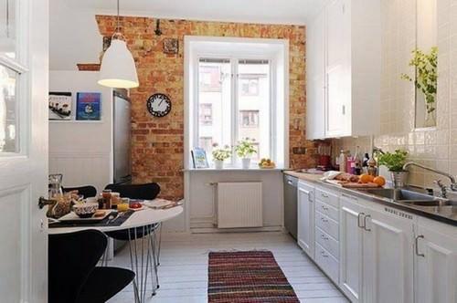 Кухни 12 кв м не являются маленькими, а их интерьер зависит от формы комнаты