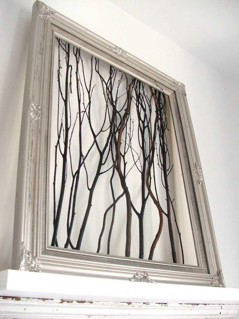 Картины, выполненные своими руками, являются новшеством в декорировании интерьеров