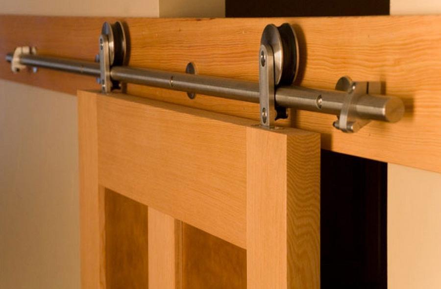 Специальные колесики обеспечивают плавное и бесшумное открытие и закрытие дверей