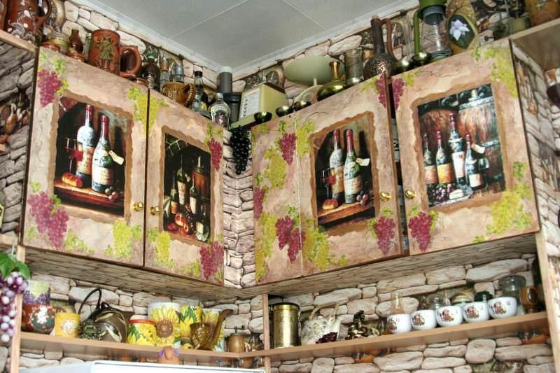 Кухню в стиле прованс можно сделать своими руками