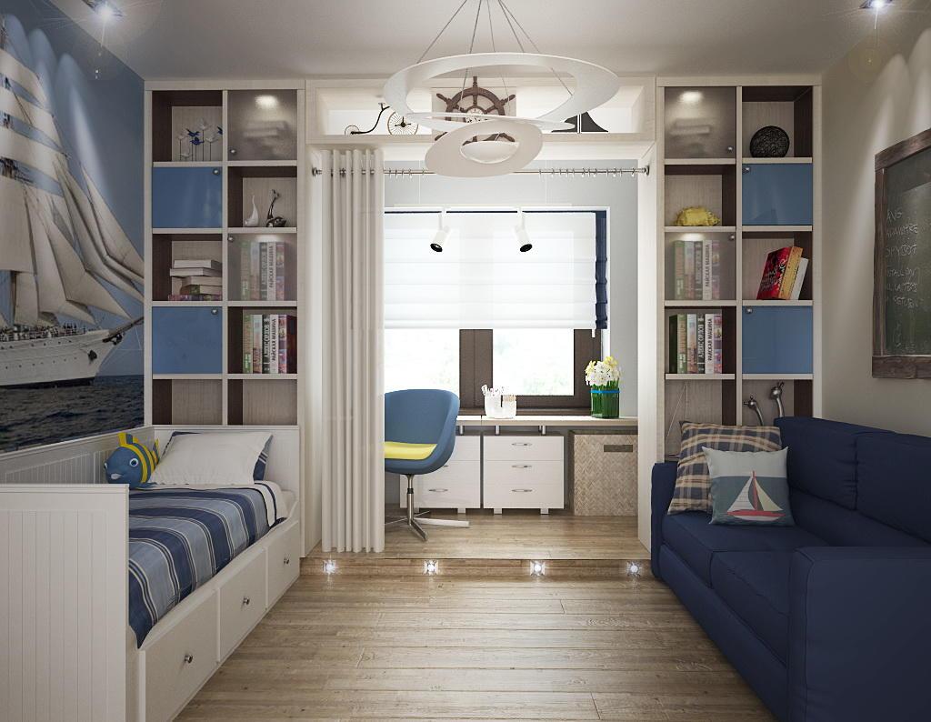 Оформляя комнату для подростков, в обязательном порядке необходимо принимать во внимание пожелания и потребности детей