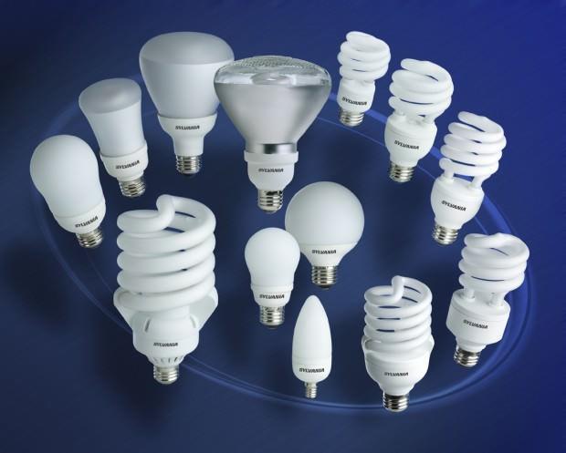 Энергосберегающие лампы дают белый мягкий свет и потребляют мало электричества