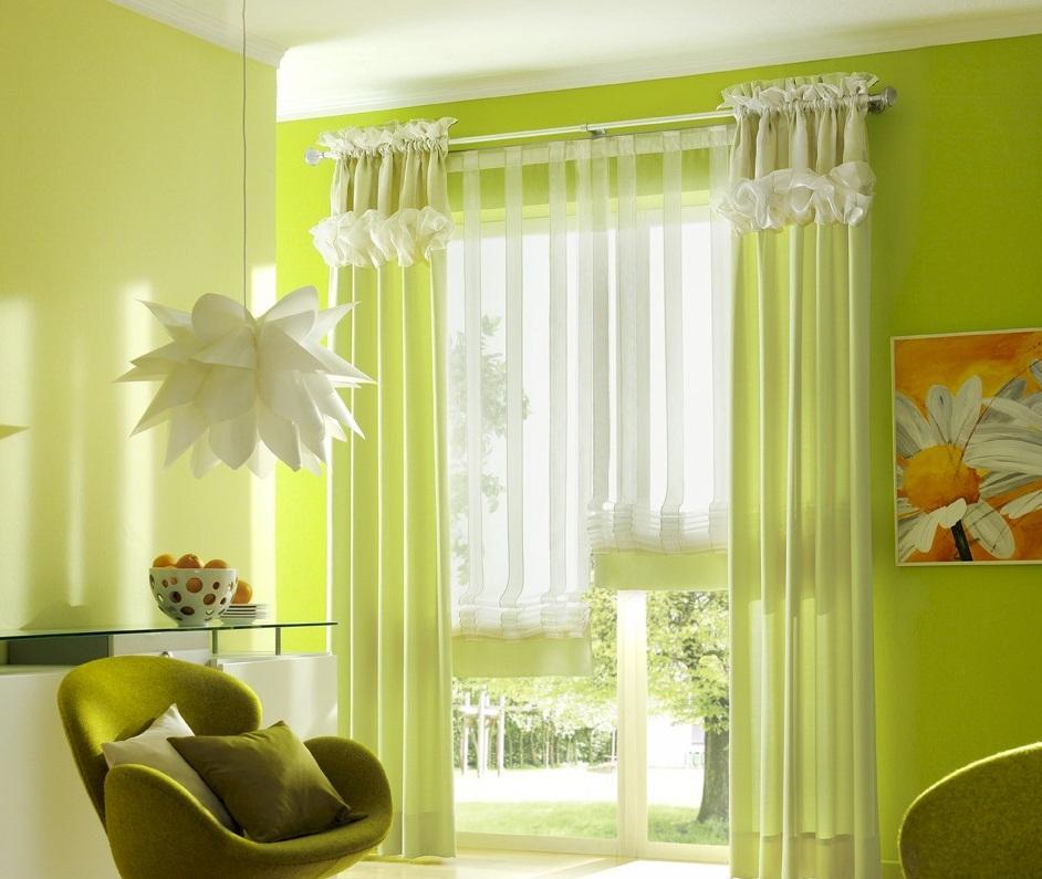 Подвешенные цветы из бумаги хорошо подходят для интерьера зала, сделанного в стиле хай-тек или модерн