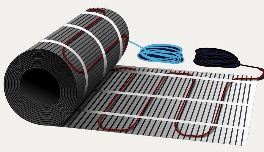 Электрический пол обеспечивает равномерный обогрев всего помещения