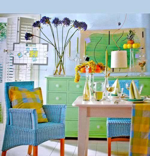 Уют и красота в кухне формируется из разных мелочей