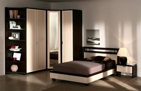 Шкаф в спальне должен дополнять интерьер комнаты и быть функциональным