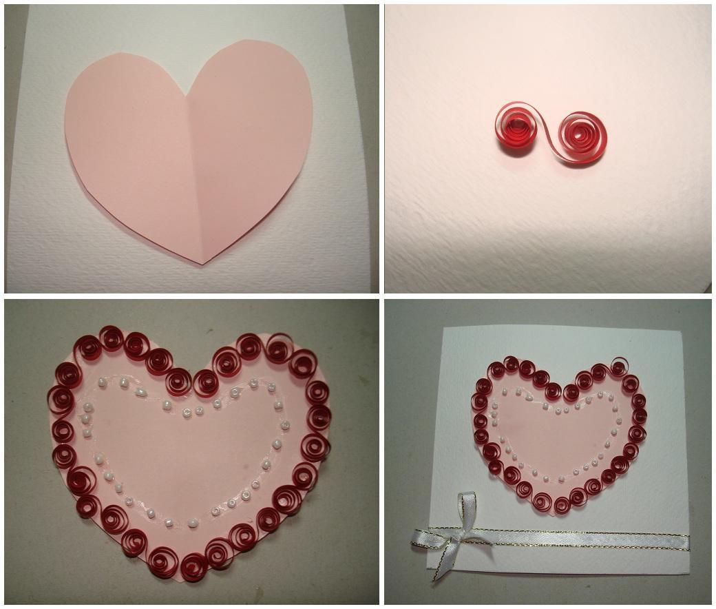 Схемы для создания квиллинг сердца можно найти в интернете или нарисовать самостоятельно