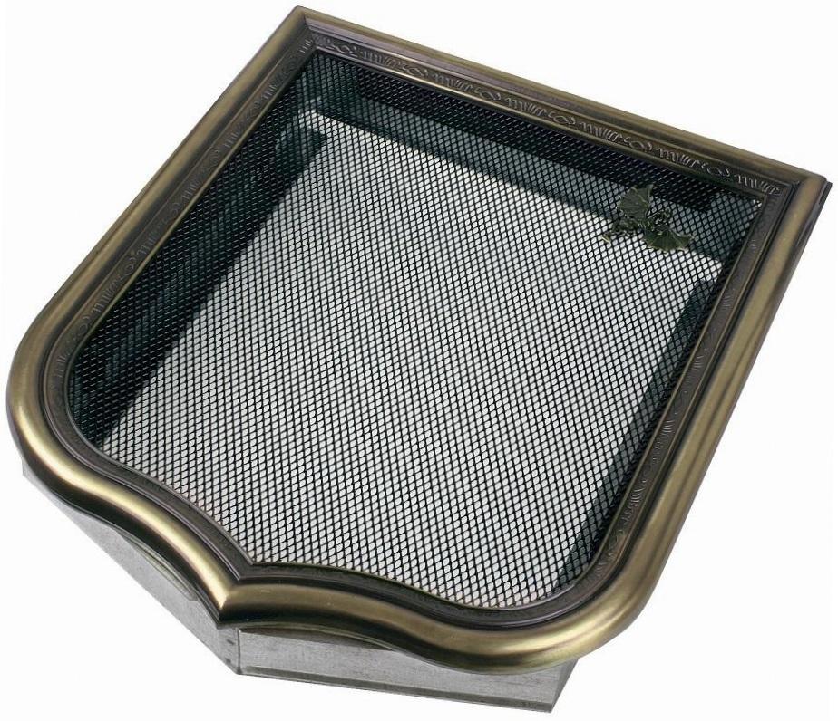 Вентиляционная решетка для камина предназначена для безопасной конвекции воздушного потока