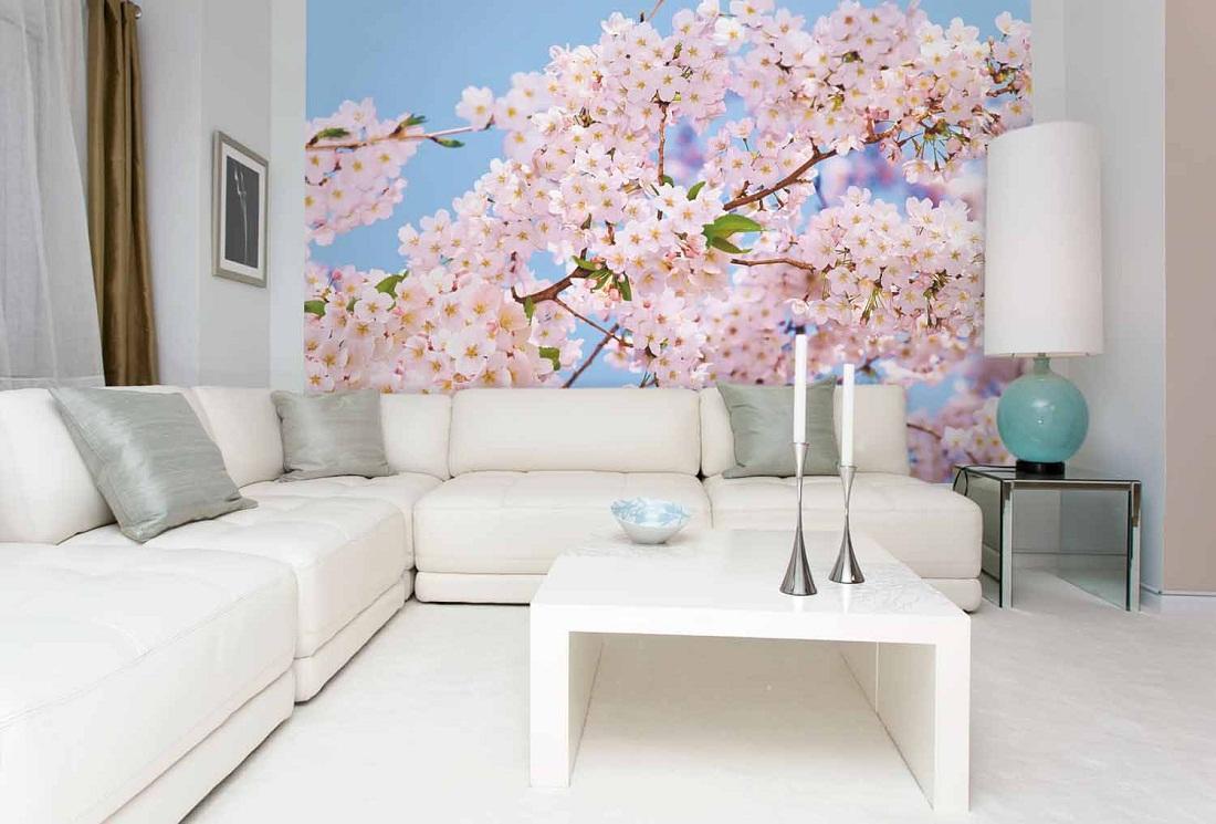Сделать интерьер зала индивидуальным помогут декоративные элементы: картины, вазы, технические приспособления с визуальными эффектами