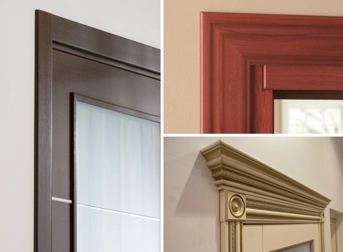 Достаточно качественными и практичными являются деревянные наличники для дверного проема