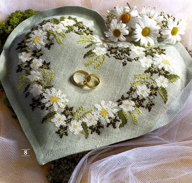 Красивое напоминание о дне свадьбы в виде вышивки свадебной метрики, станет прекрасным и оригинальным подарком как в день бракосочетания, так и на юбилей свадьбы