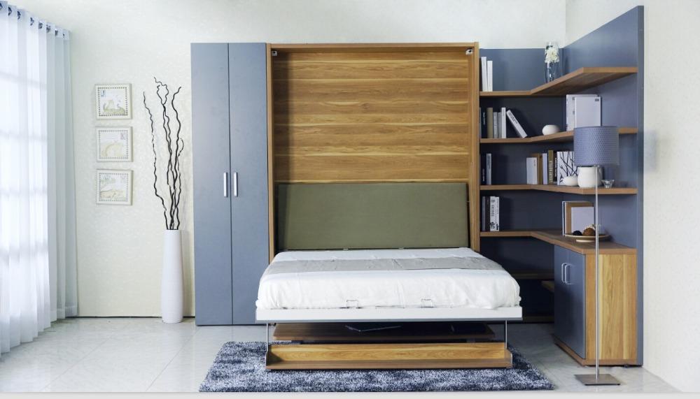Кровать-трансформер — отличный вариант для однокомнатной квартиры