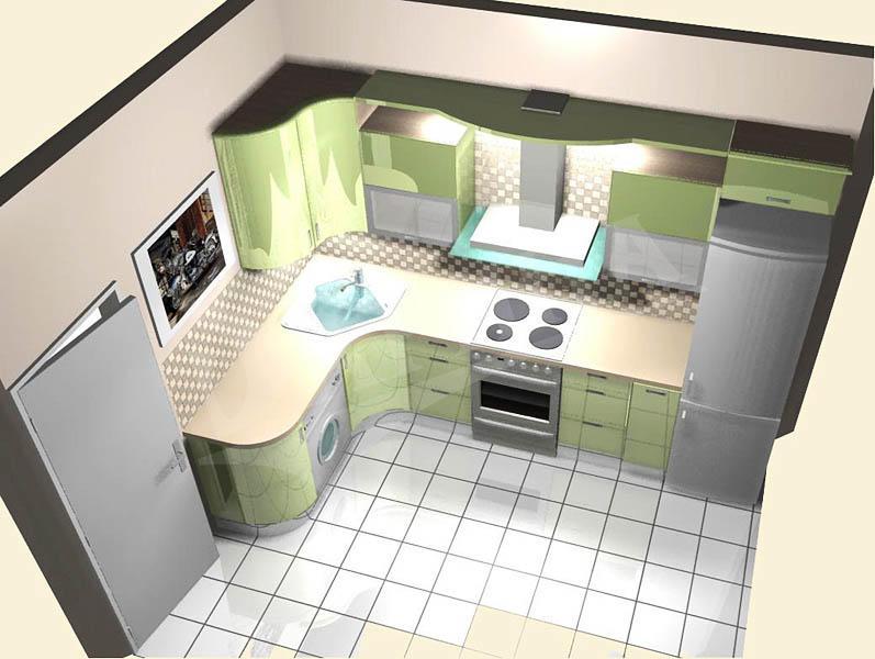 Создание проекта кухни 9 кв. м - важный этап, на котором необходимо продумать каждый нюанс до мельчайших деталей