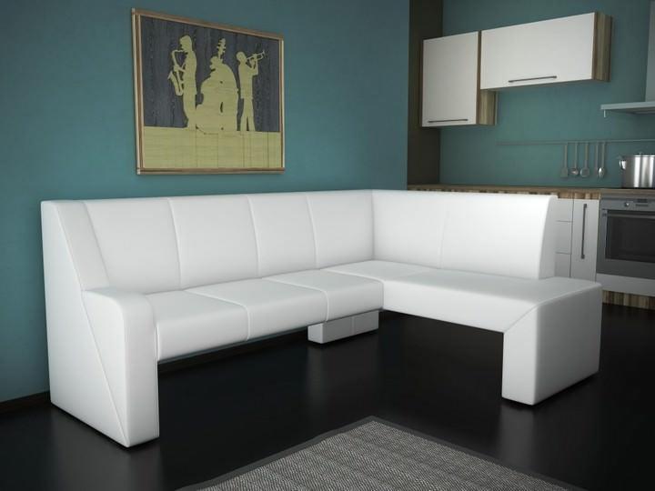 Дизайн углового дивана должен гармонично влиться в общий интерьер кухни. При выборе внешнего вида уголка можно руководствоваться разными концепциями