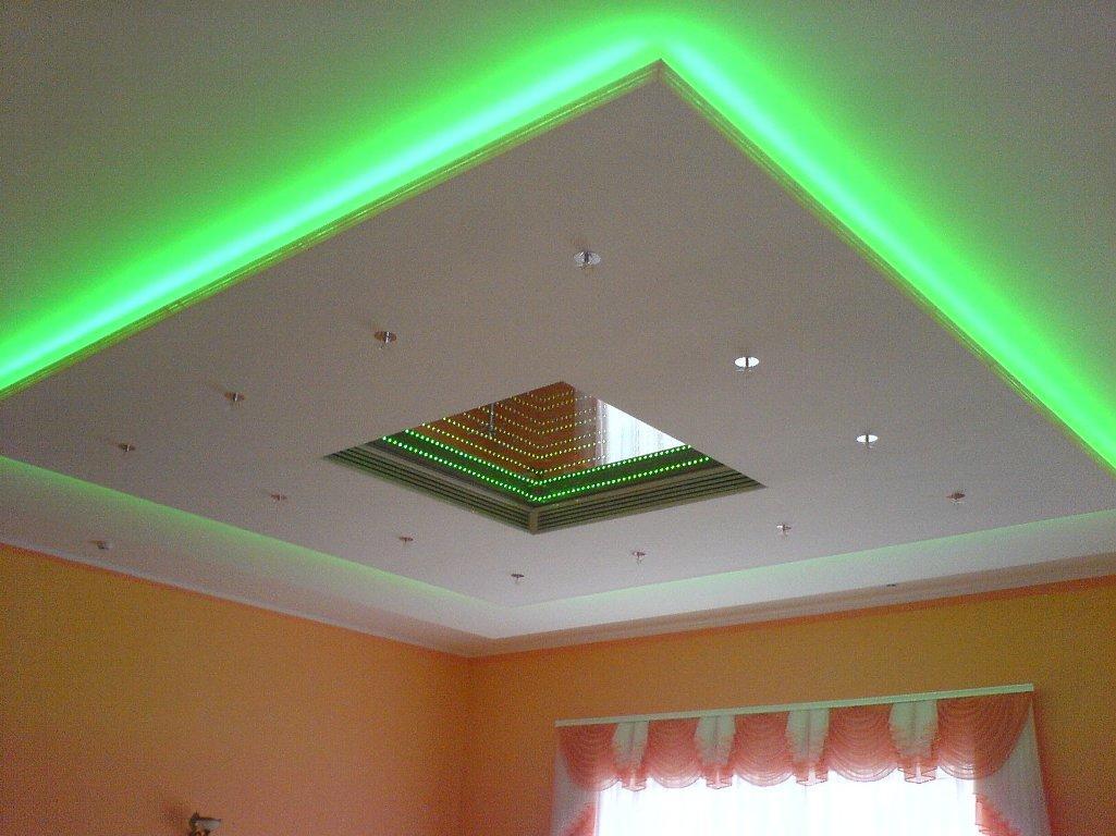 Какие светильники лучше для натяжного потолка: светодиодные лампы, как выбрать точечные, какие подойдут лампочки