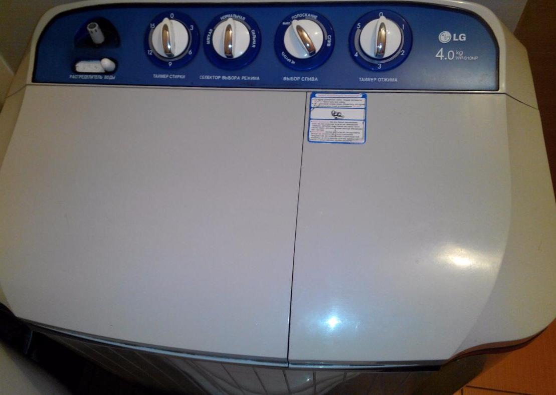 Стиральные машины полуавтомат с отжимом изготавливает компания LG и другие производители