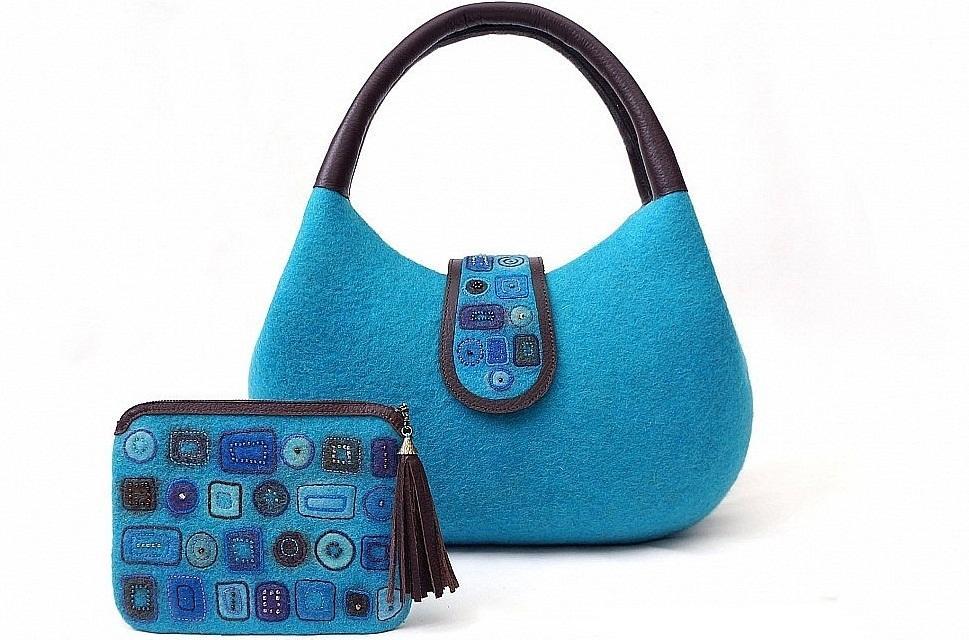1078.970_ Валяние из шерсти сумки — мастер-класс. Какие сумки можно свалять из шерсти в домашних условиях?