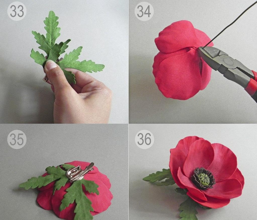 1159 Цветы из фоамирана своими руками 75 фото для начинающих