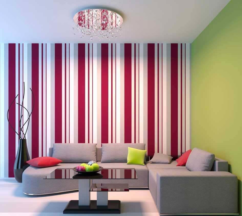 Ремонт разноцветные стены фото