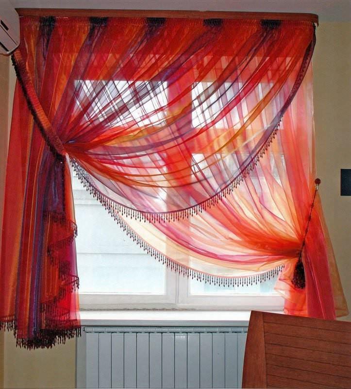 123-156 Как пошагово сшить шторы на кухню своими руками по выкройке?