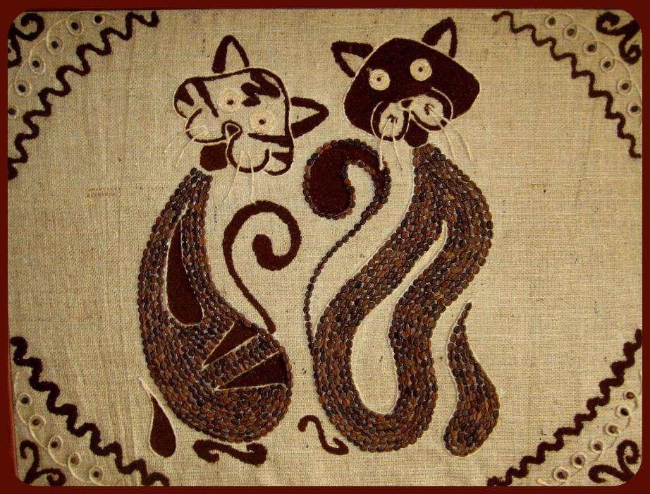 125272457_2_1000x700_panno-iz-kofeynyh-zeren-fotografii_rev0041 Панно из кофейных зерен своими руками: фото, мастер класс, картины, кофейная чашка, панно кошек из фасоли, как сделать подсолнухи на стену, видео || Класс Панно Кофе в рукодельной энциклопедии Pro100hobbi