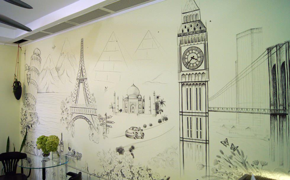 второй картинки на стену рисовать карандашом утверждает, что