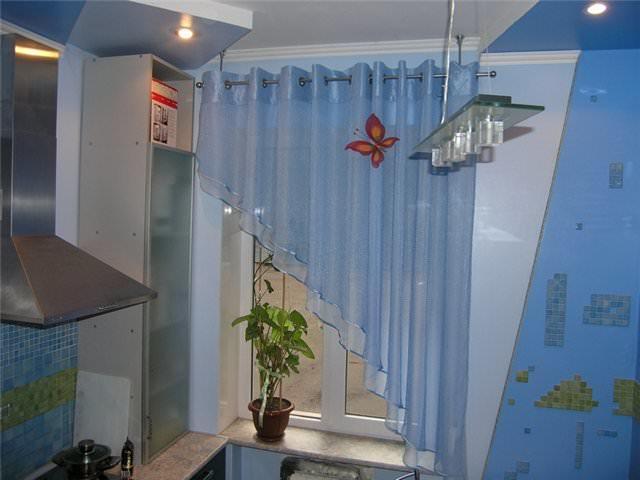 1347008 Как пошагово сшить шторы на кухню своими руками по выкройке?