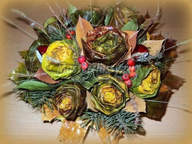 1383838171_175_640x4802 Топиарий осенний: мастер класс фото, своими руками поделка, дерево дары пошагово, золотая мк, букет из природных материалов на тему