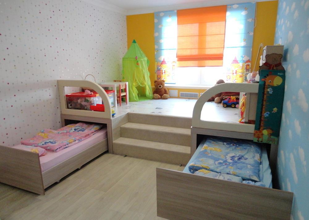 Комната для девочки и мальчика должна быть как красивой, интересной, так и функциональной