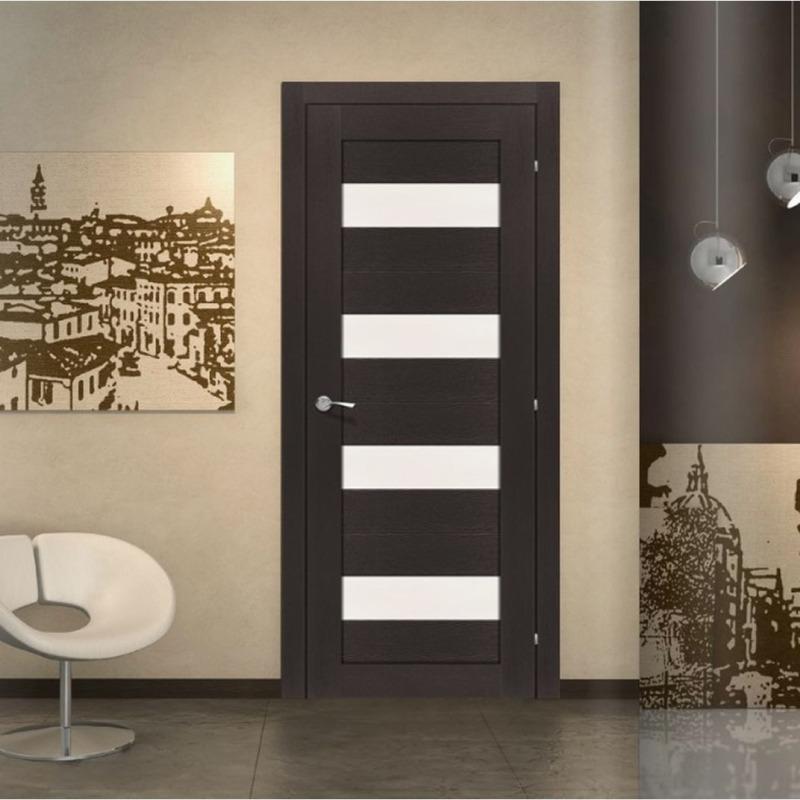 При выборе каркасной двери дизайнеры рекомендуют учитывать интерьер помещения, где будет устанавливаться конструкция