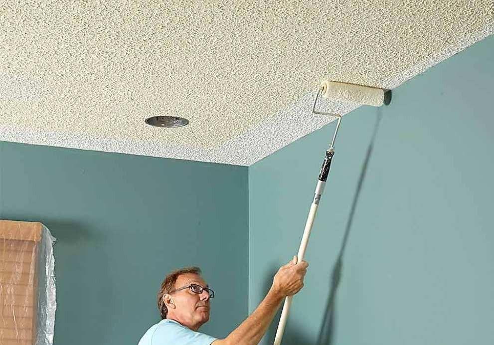 какую краску выбрать для потолка из гипсокартона