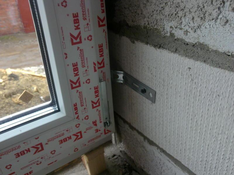 установка пластиковых окон в доме из пеноблоков