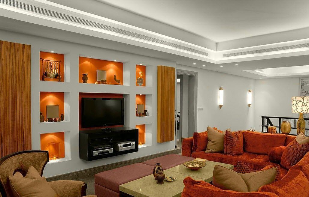 следовать инструкции мебель из гипсокартона в гостиной фото вентиляторами