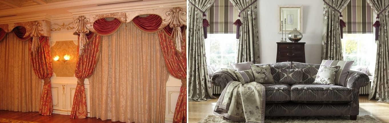 Итальянские шторы придадут любому помещению чувство пространства, дополнительной высоты и особую мягкость