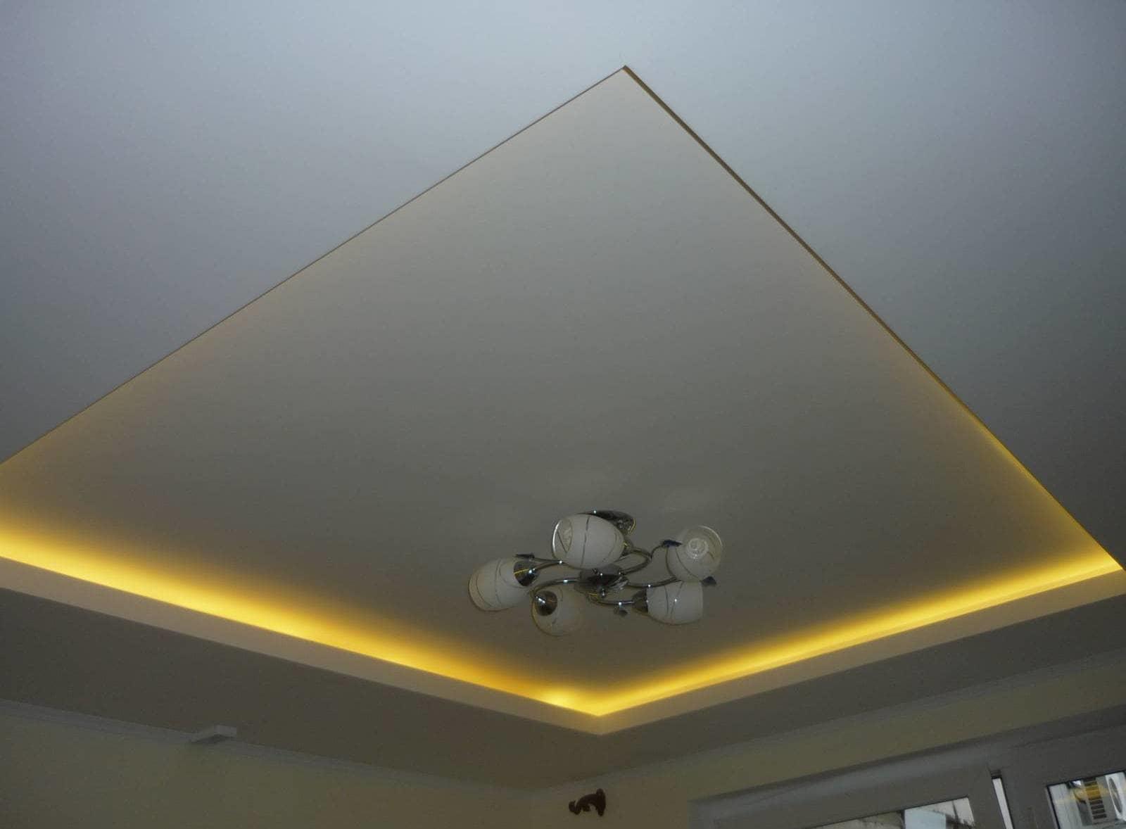 двухъярусные потолки из гипсокартона своими руками
