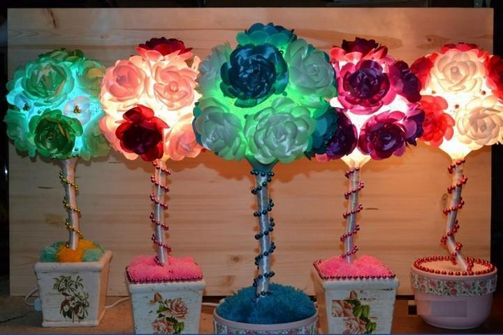 Светящееся дерево счастья - не только яркое украшение интерьера, но и ночник